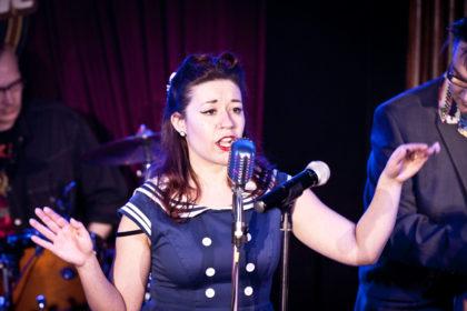 Foto Jenny auf der Bühne