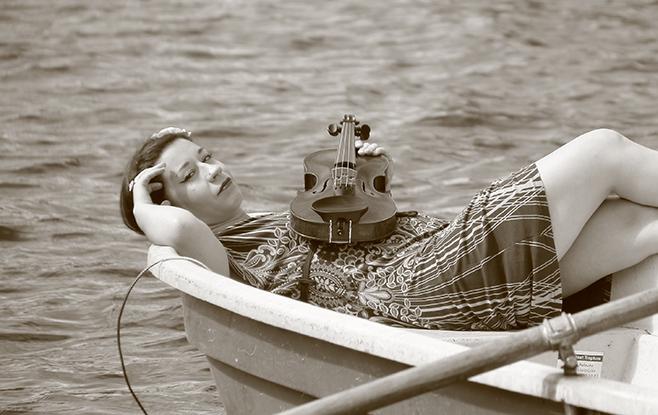 Foto Jenny on the River
